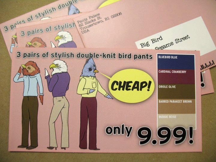 Junk Mail for Big Bird