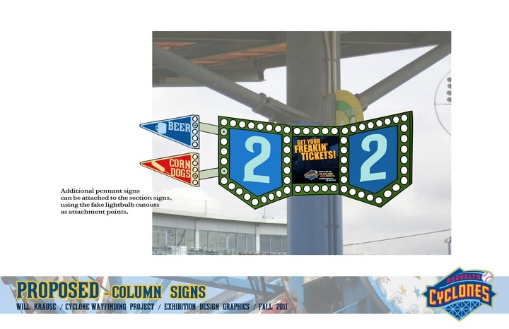 Brooklyn Cyclones Signage Project