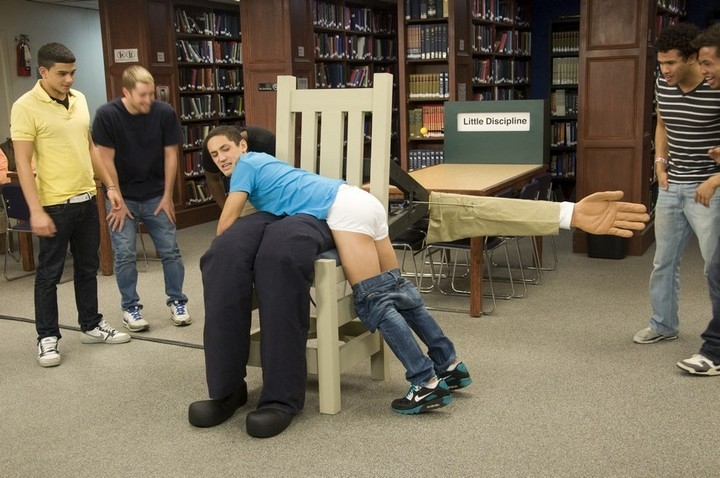Spank the librarian
