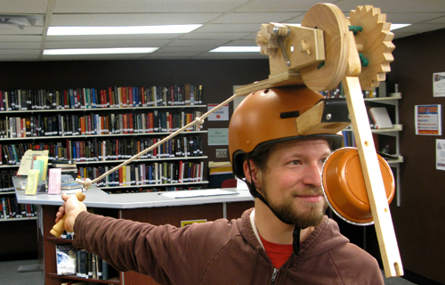 Catapult Hat – Silent Library