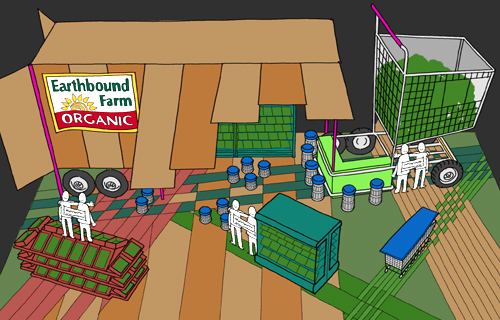 Earthbound Farm – Tradeshow Exhibit
