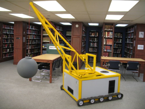 Wrecking Ball Crane – Silent Library