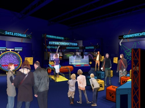 """Fermilab's Future"" Exhibit"