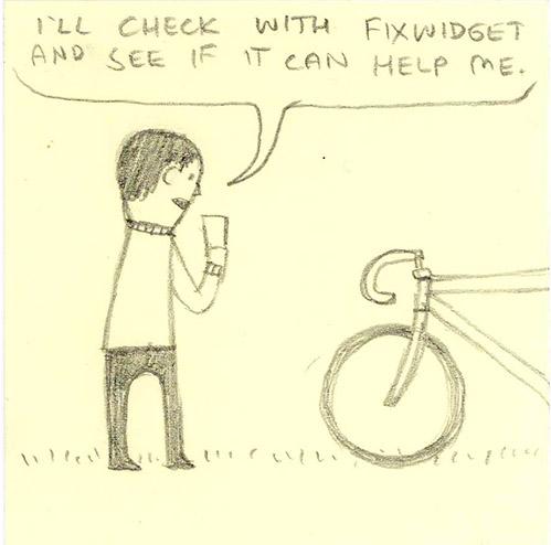 Fixwidget app – Storyboard